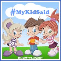 MyKidSaid #week 1