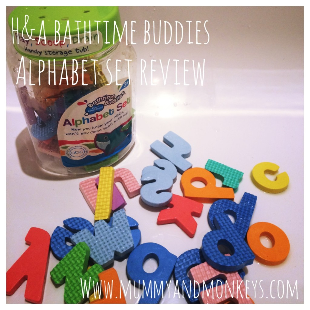 H&A Bathtime Buddies Alphabet Set Review and Vlog