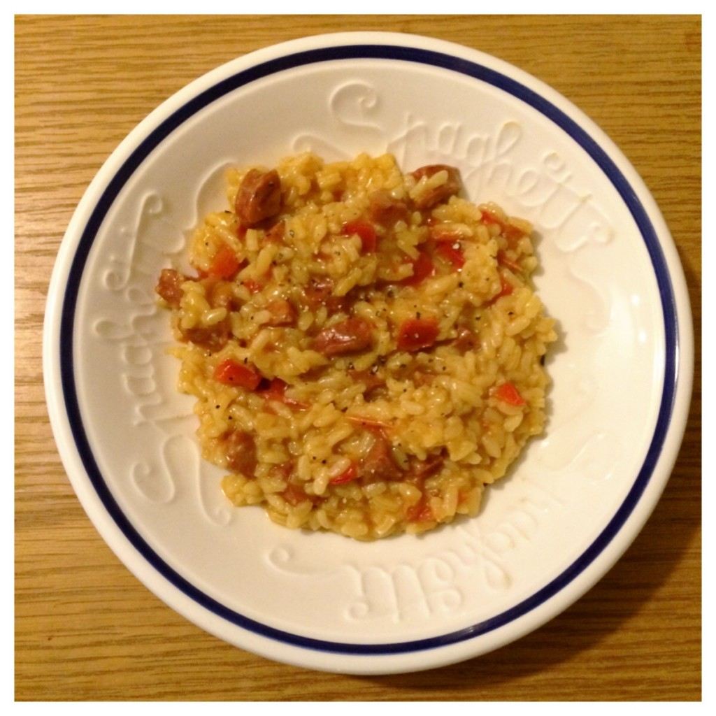 Chorizo and Tomato Risotto