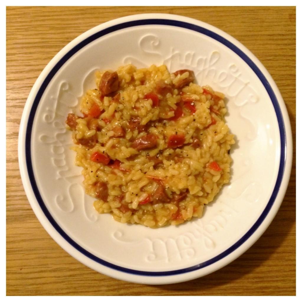 Chorizo and Tomato Risotto