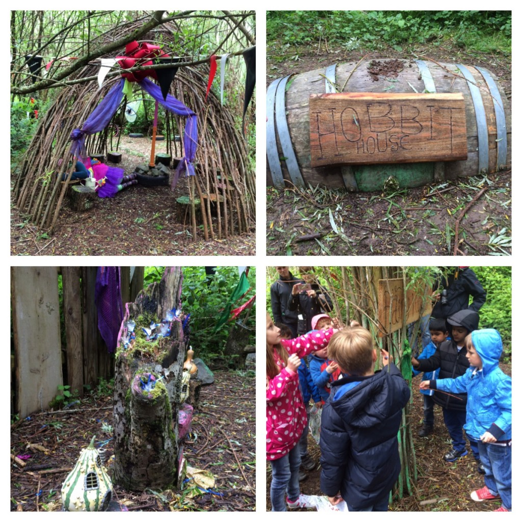 1. The Fairy House. 2. Hobbit House. 3. Fairy dust. 4. Magic!