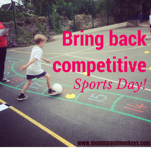 Why I hate non competitive Sports Day!