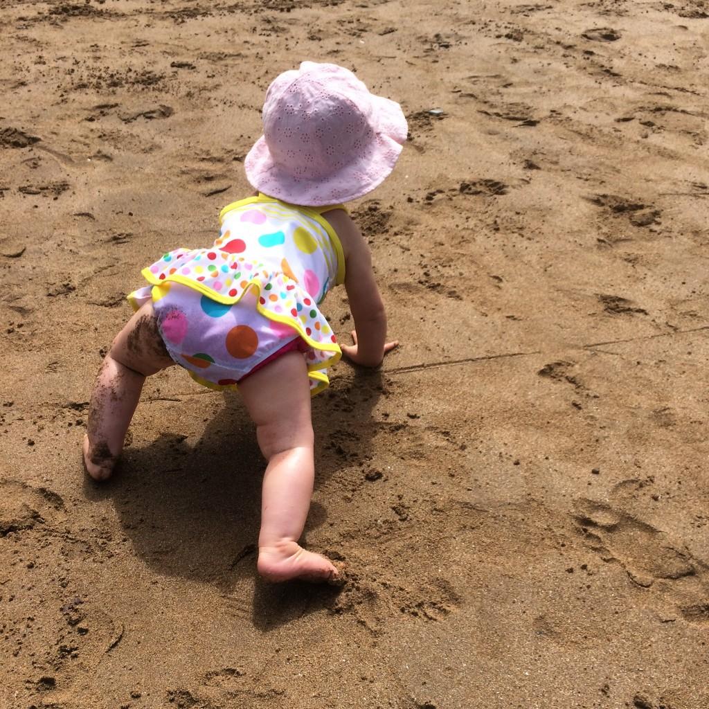 Ava crawling
