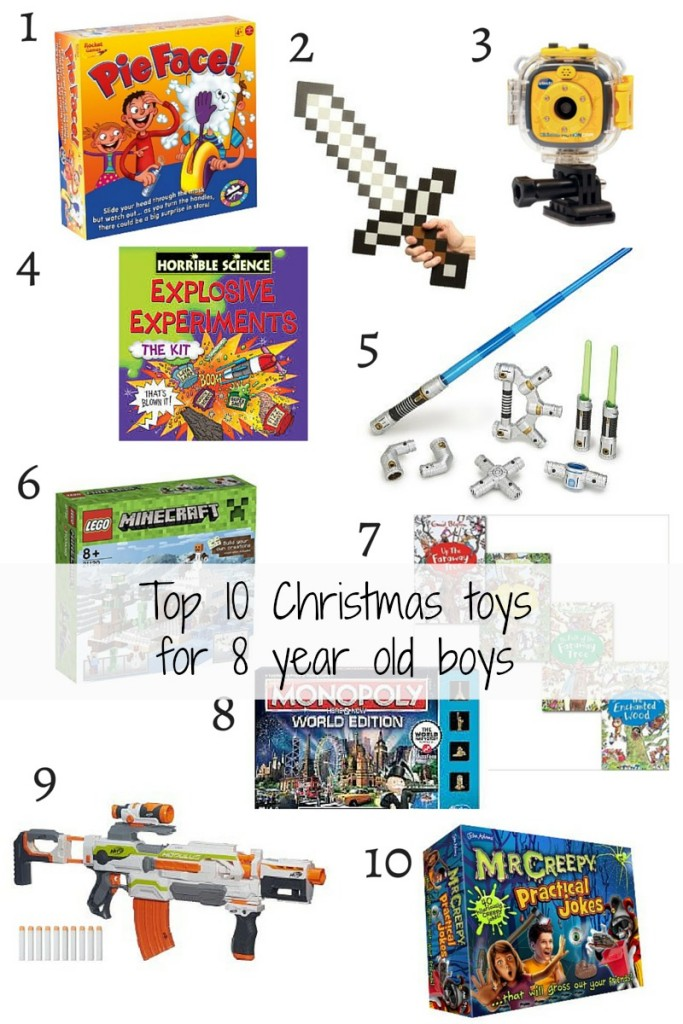 Top 10 Christmas toys  for 8 year old boys 2015