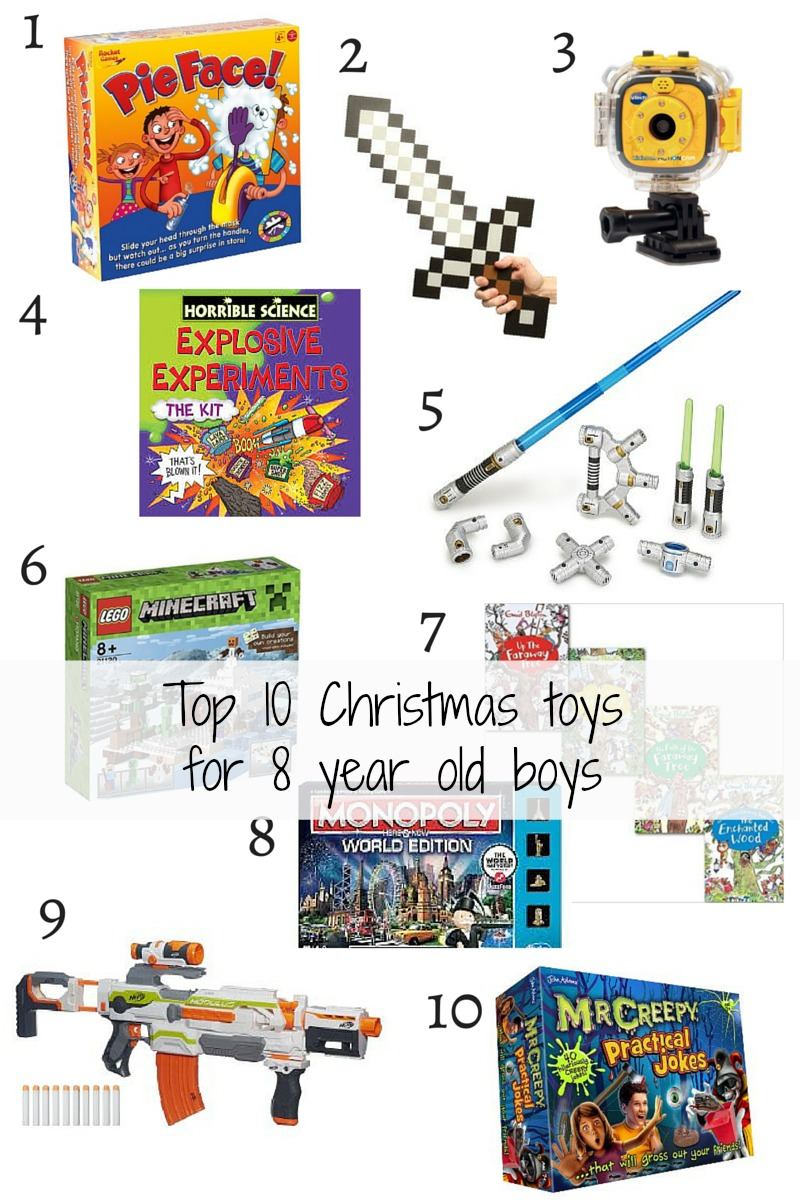 Christmas Presents For 8 Year Olds.Top 10 Christmas Toys For 8 Year Old Boys
