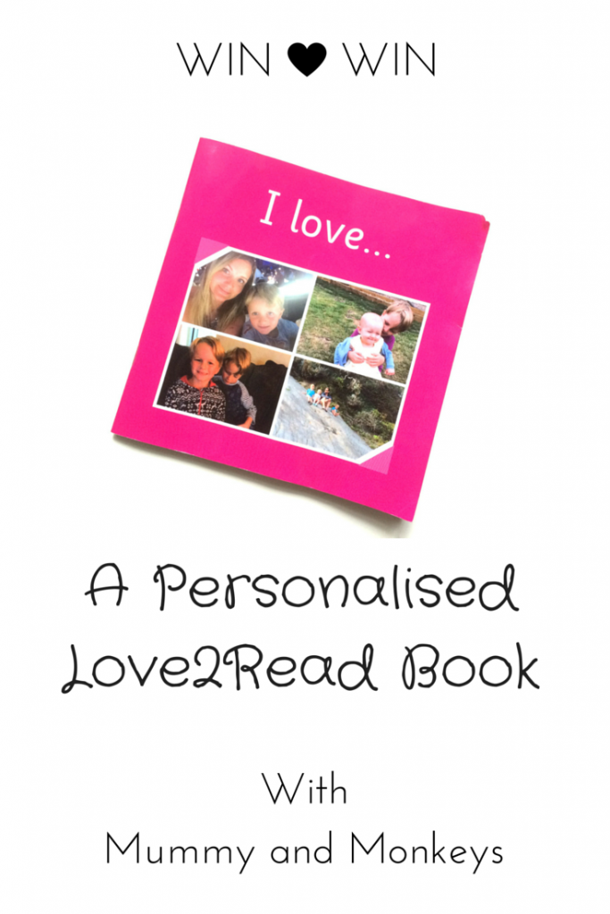 Win a personalised love2read book
