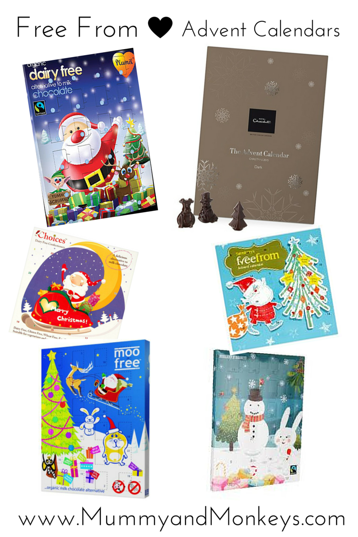 Free From Advent Calendars 2015 - Mummy and Monkeys