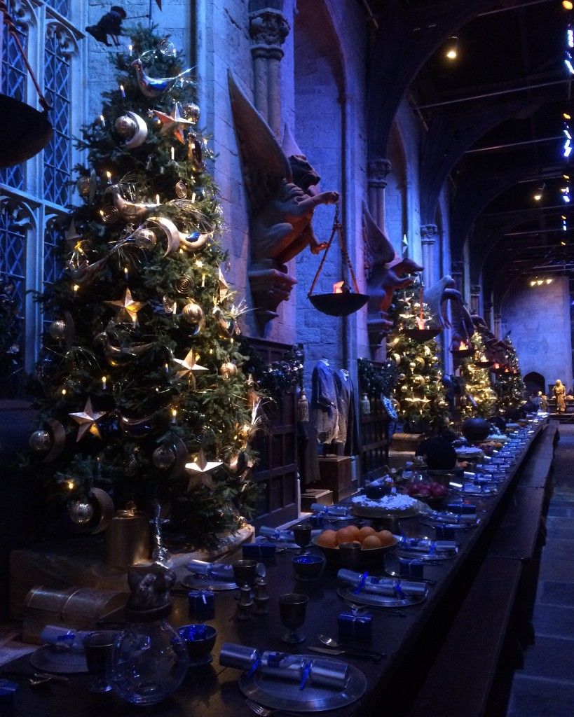 Hogwarts in the snow - the great hall