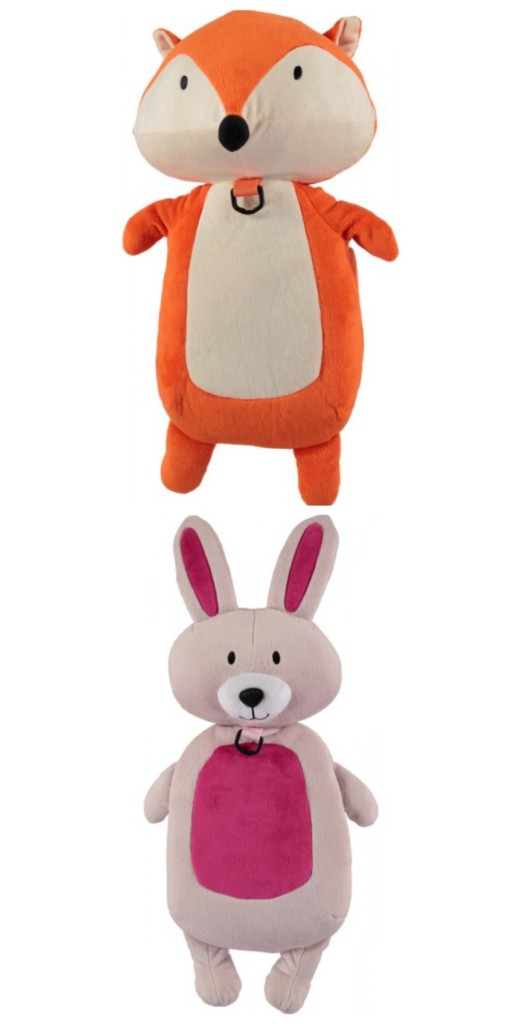 The Enchanted Forest Miss Bun Bun and Zed Fox Backpack