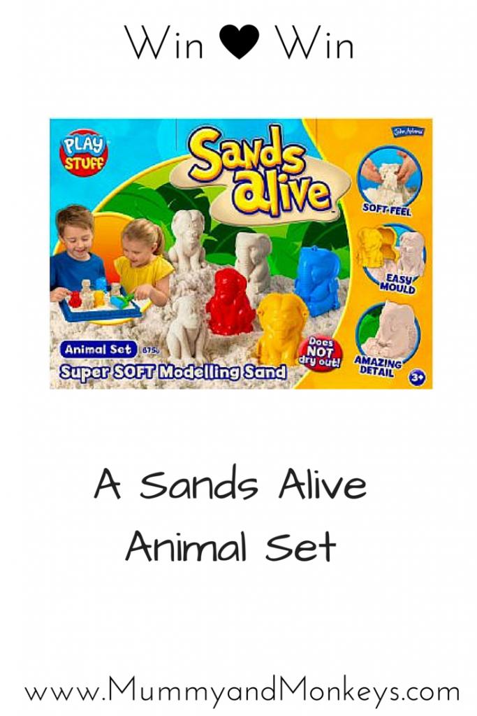 Win A Sands Alive Animals Set
