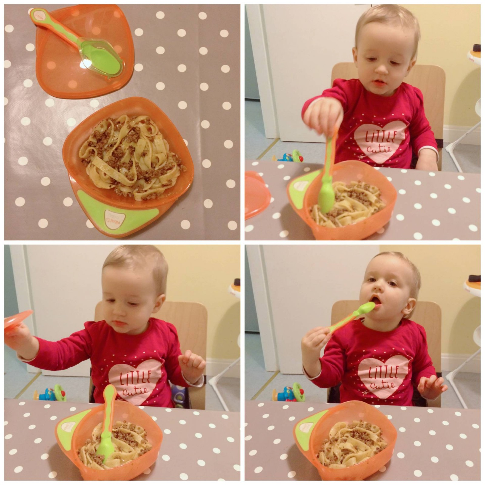 Spaghetti Bolognese My favourite weaning recipe