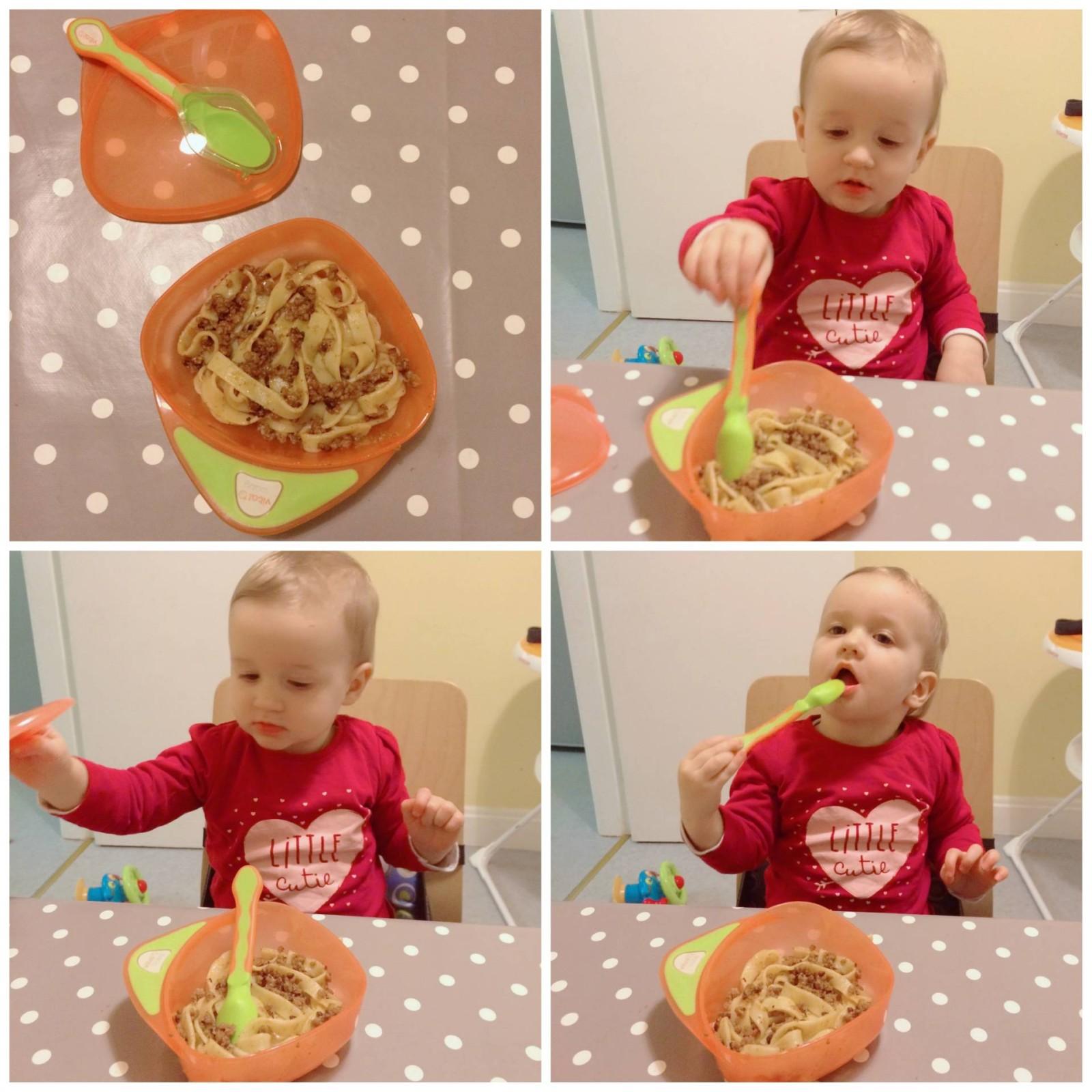 Spaghetti Bolognese for BLW