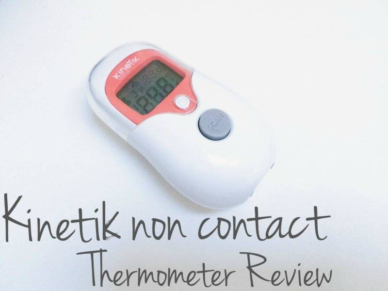 Kinetic Non contact thermometer review