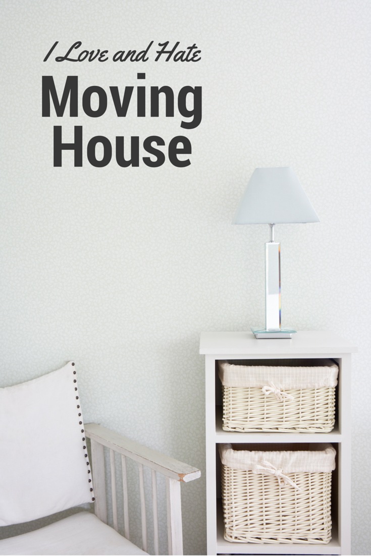 Things I love and hate about moving house