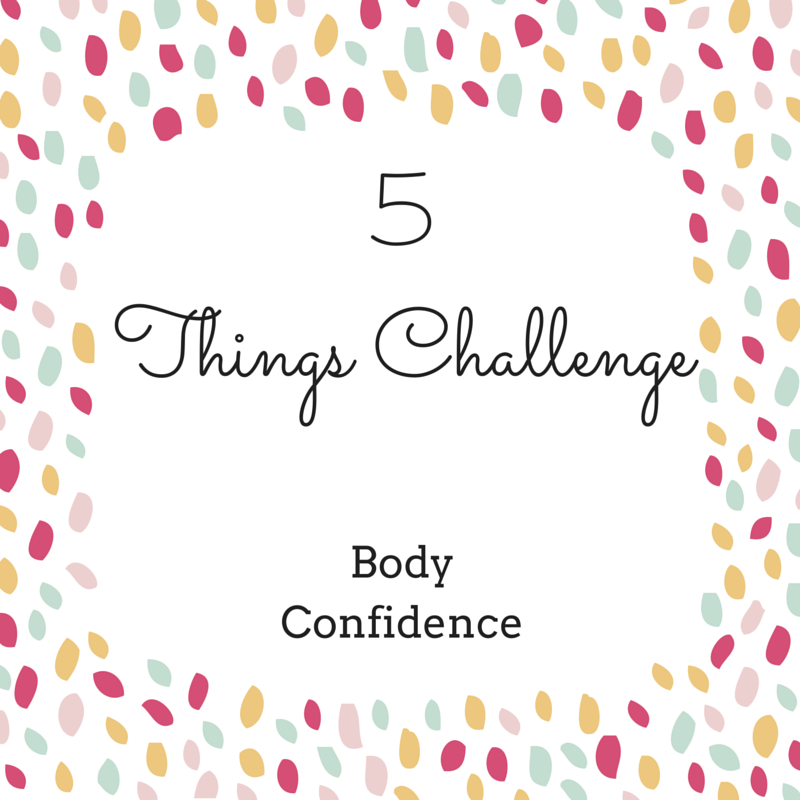 look in the mirror and choose 5 things you like about your face and body then focus on them