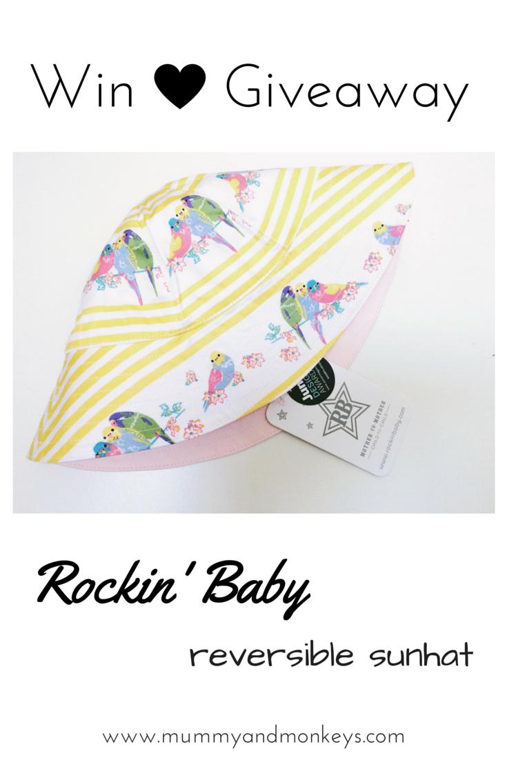 Rockin' Baby sunhat