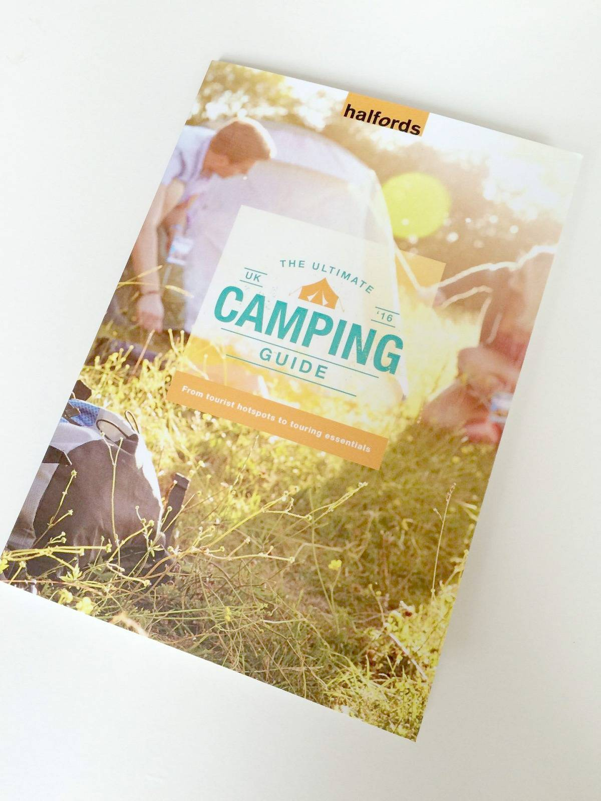 The Ultimate Camping Guide 2016 by Halfords