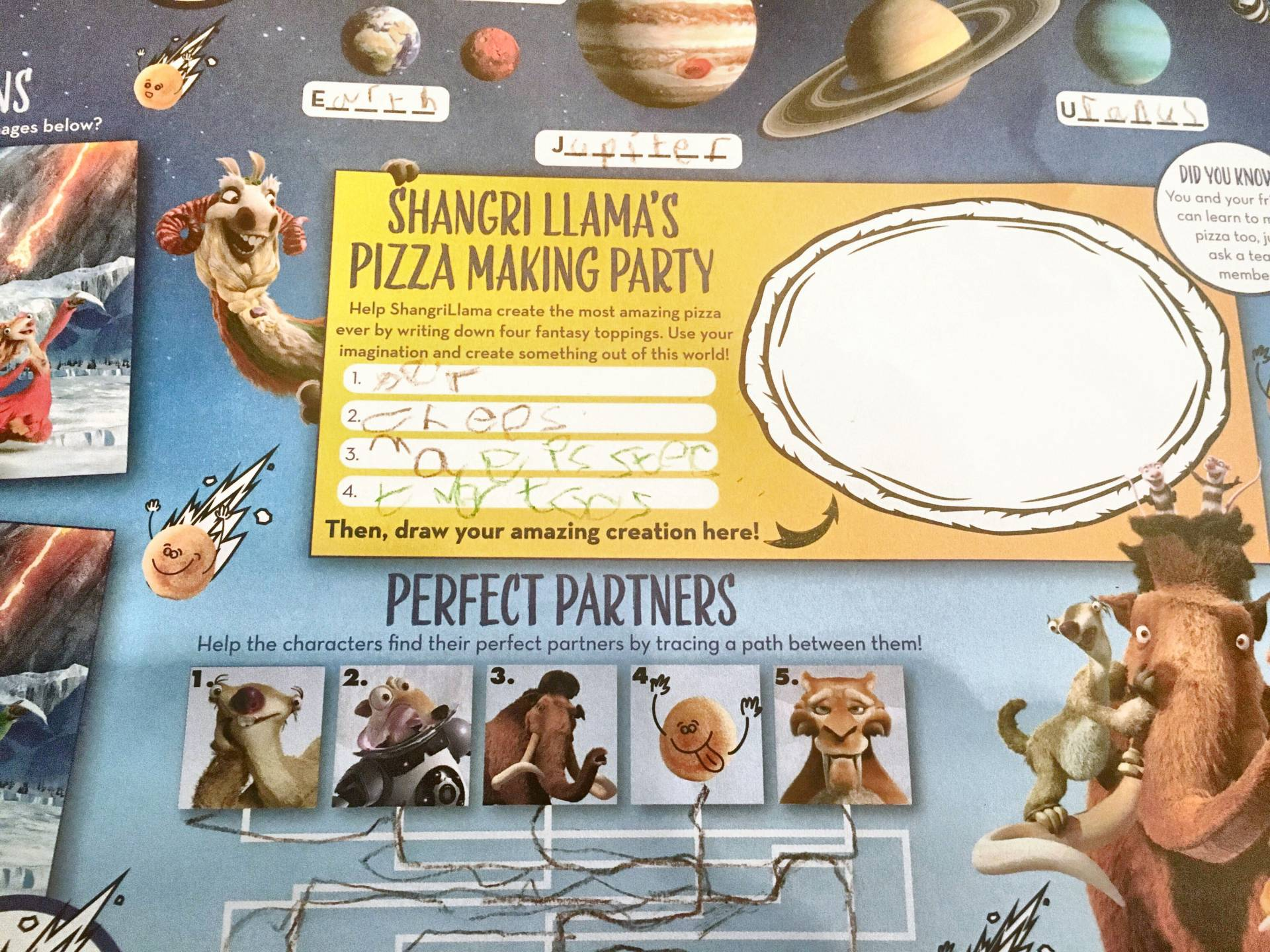 Pizza Express Ice Age