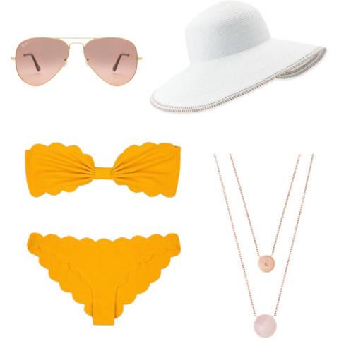 #styleyourwaytospain Bikini daytime look