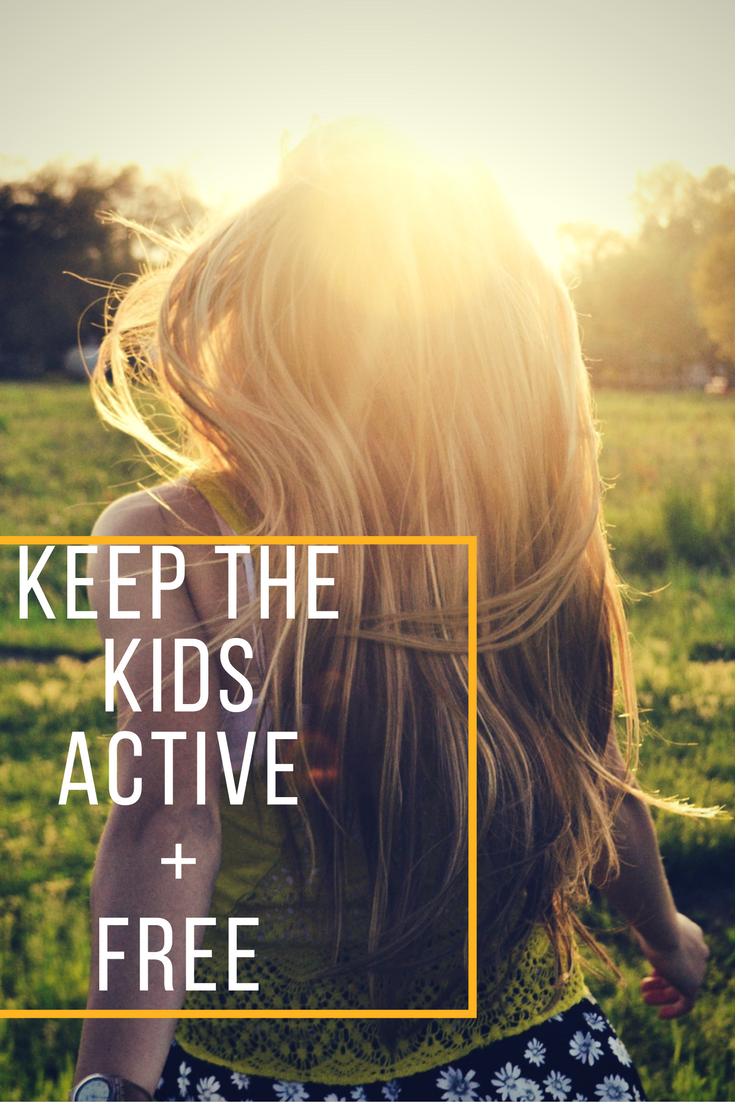 Keep the kids active for free