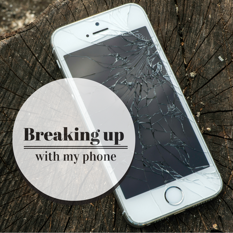 breaking up with my phone