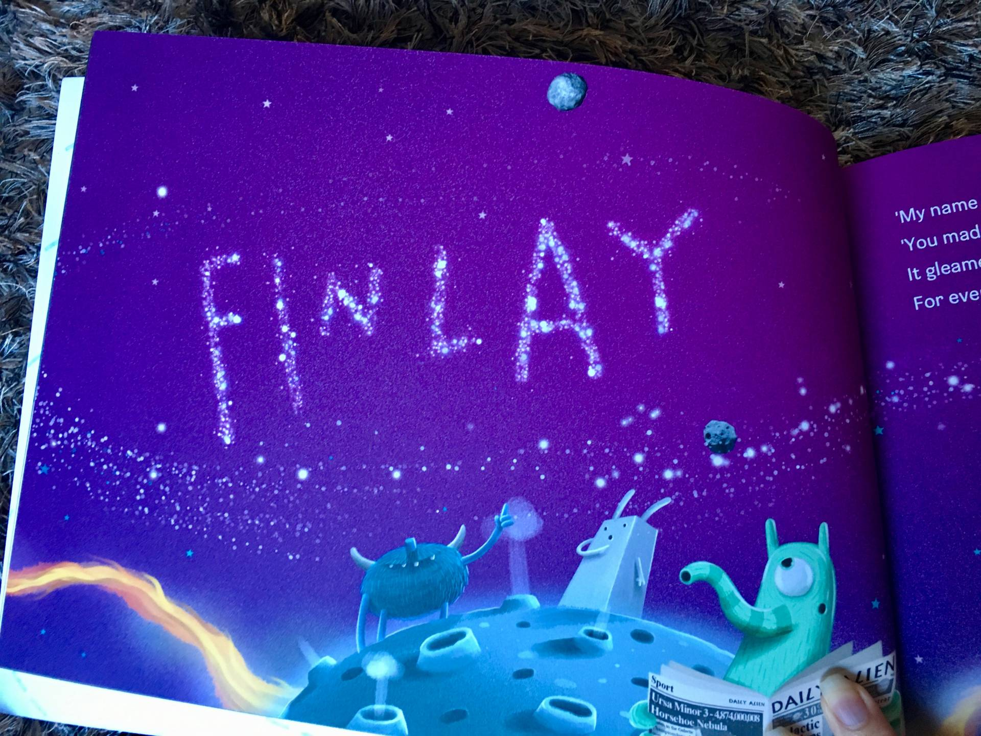 personalised book by lost my name