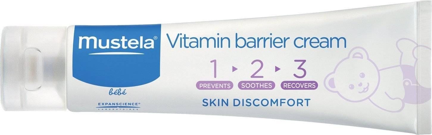Mustela 123 vitamin barrier cream