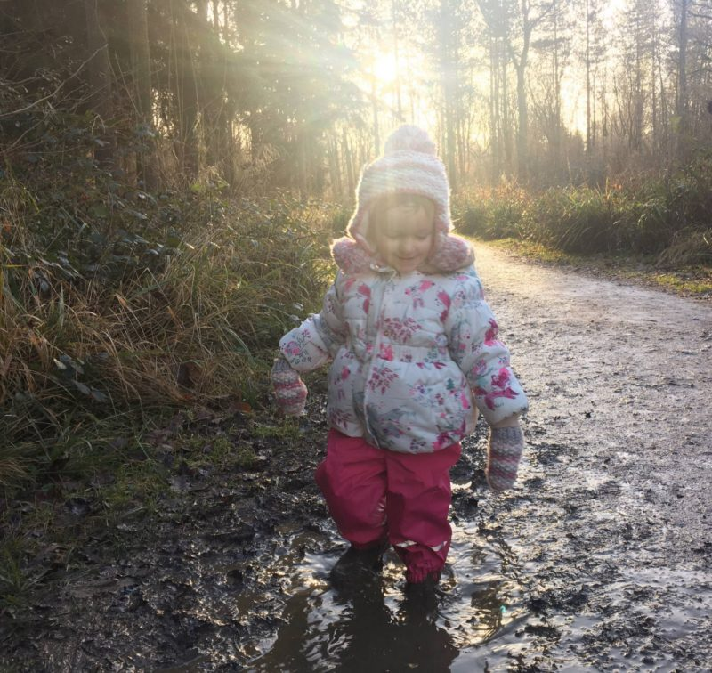 peppa pig muddy puddle walk with save the children