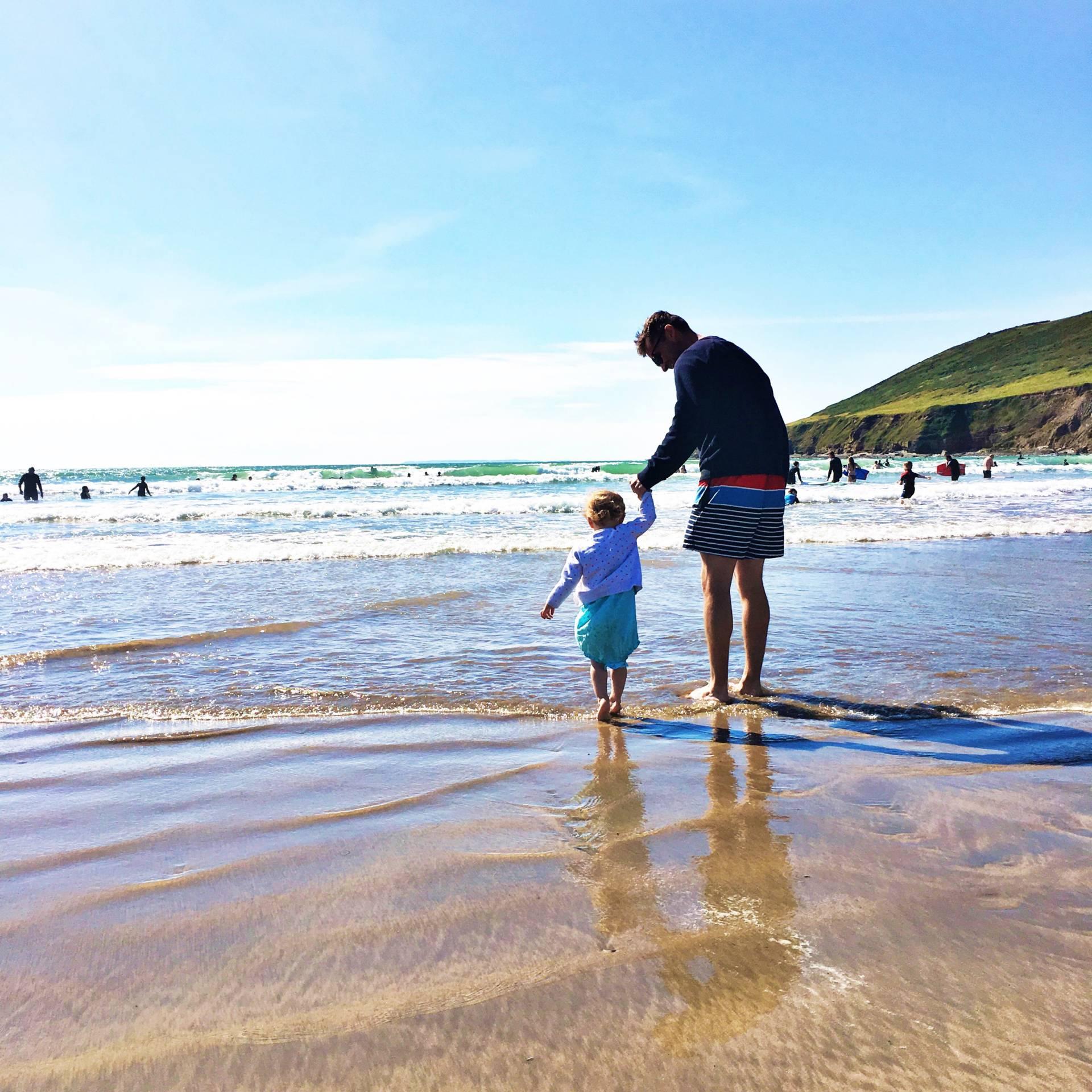 beaches of north Devon Saunton Sands