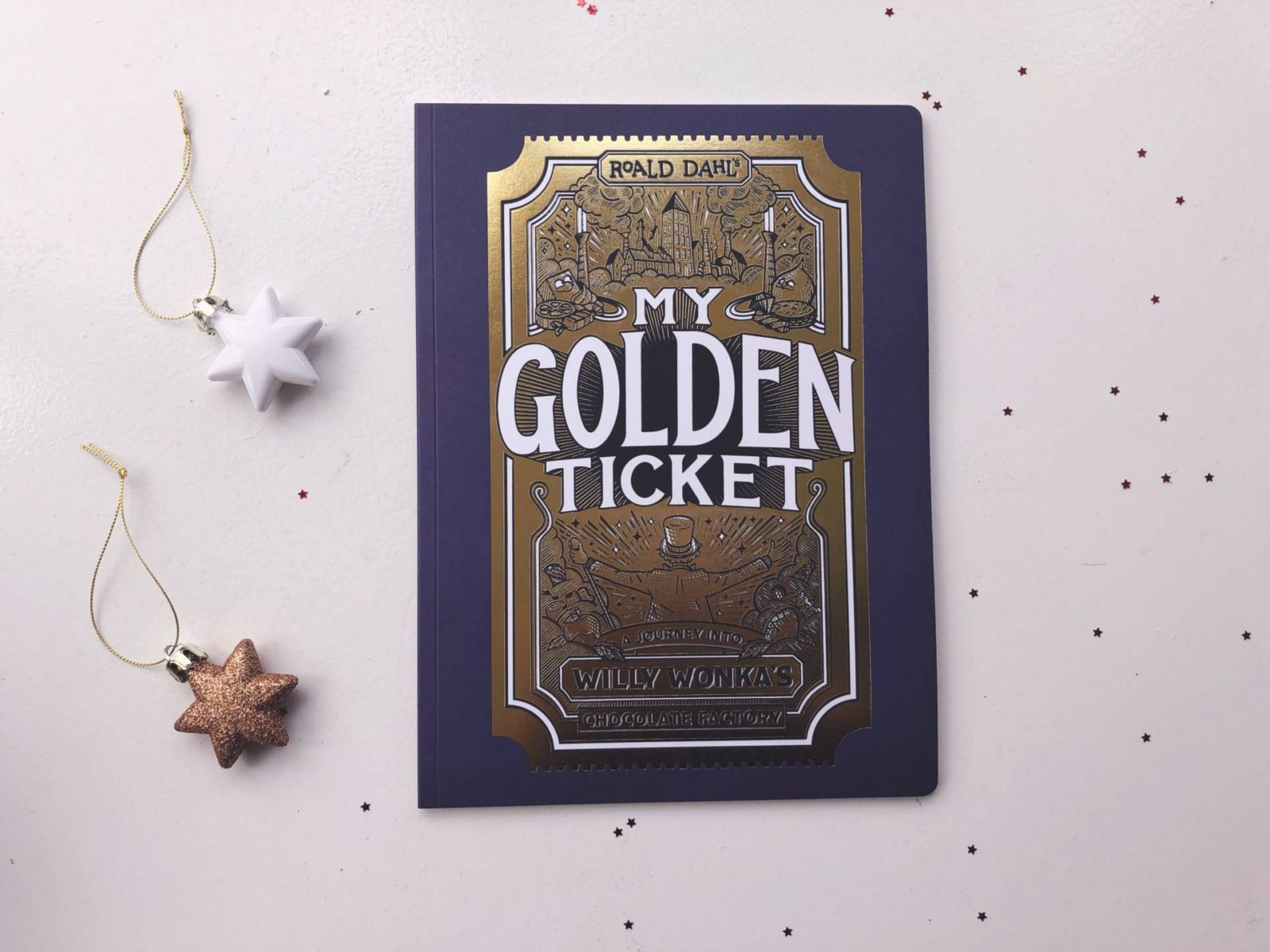 WIN a personalised 'My Golden Ticket' book by Wonderbly