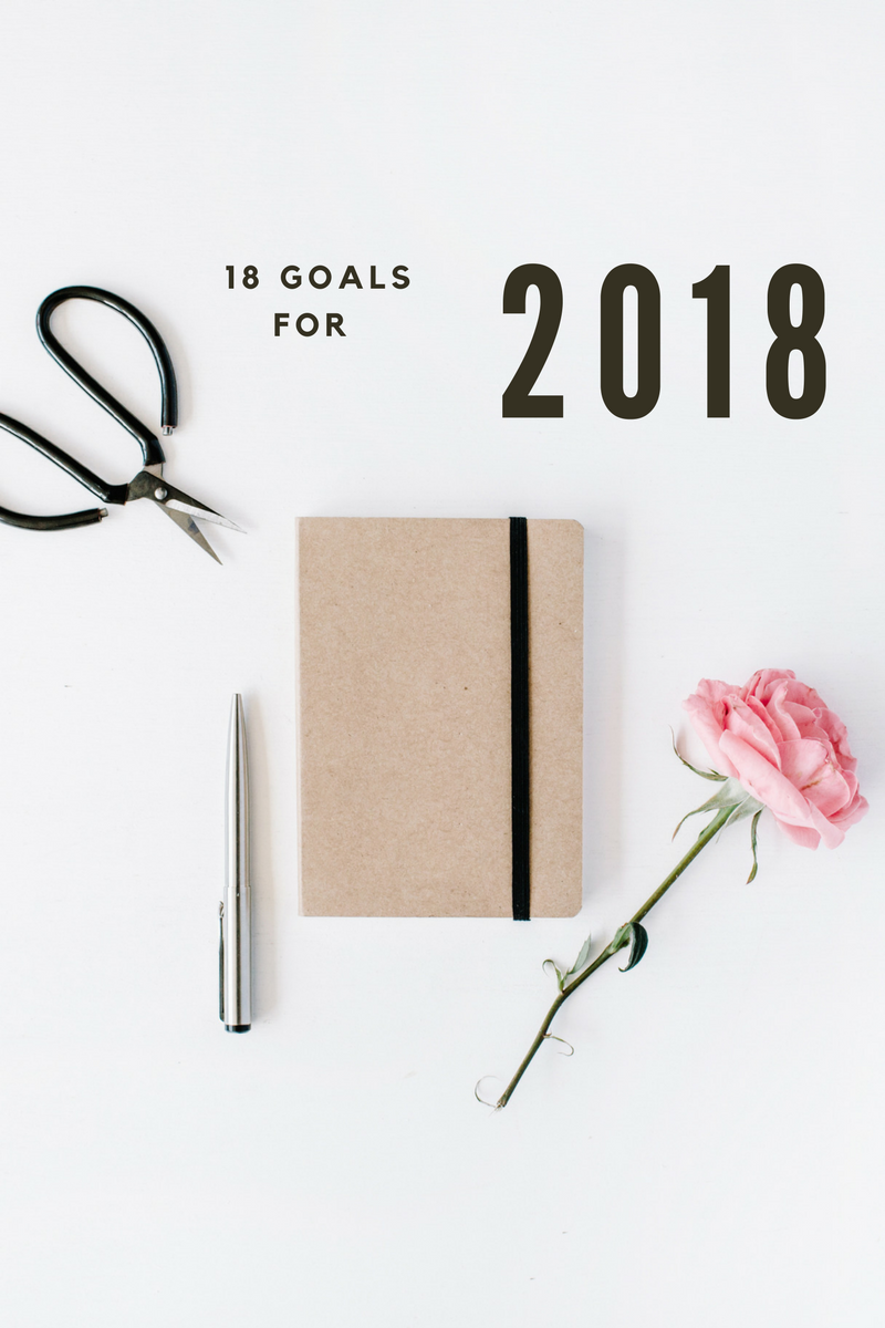 18 goals for 2018