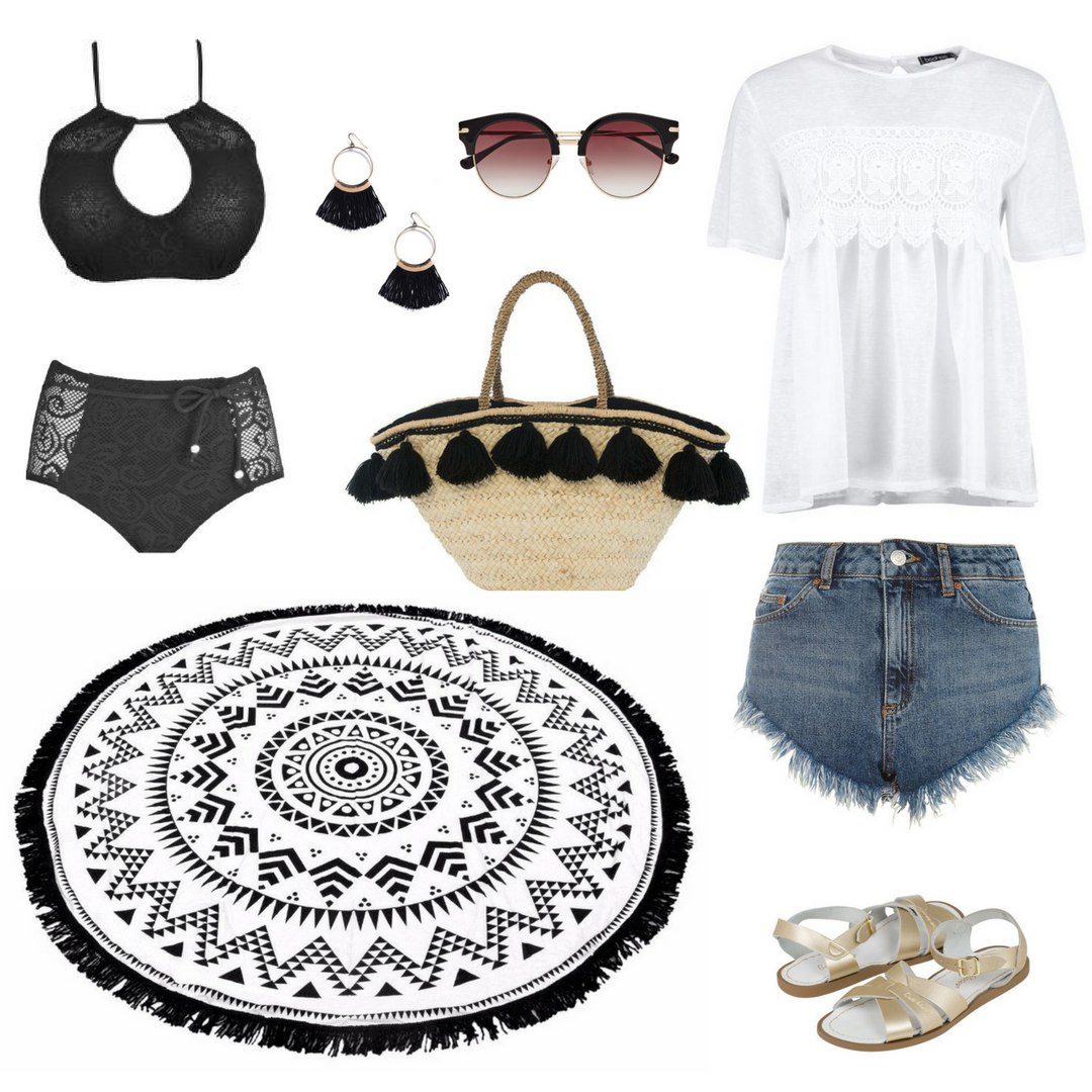Classy Beach Outfit Style