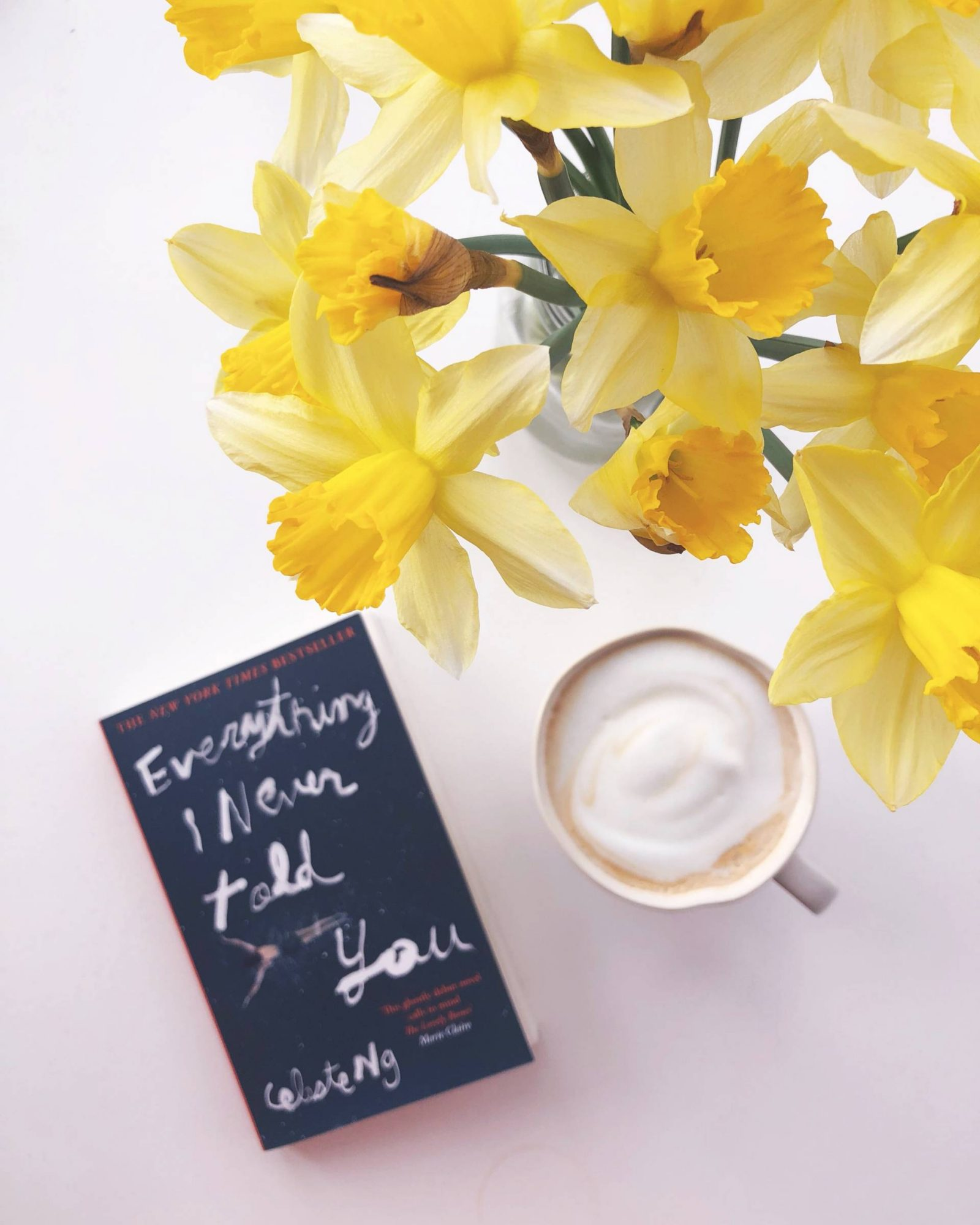 Getting out of hospital, daffodils and 90's music – little loves