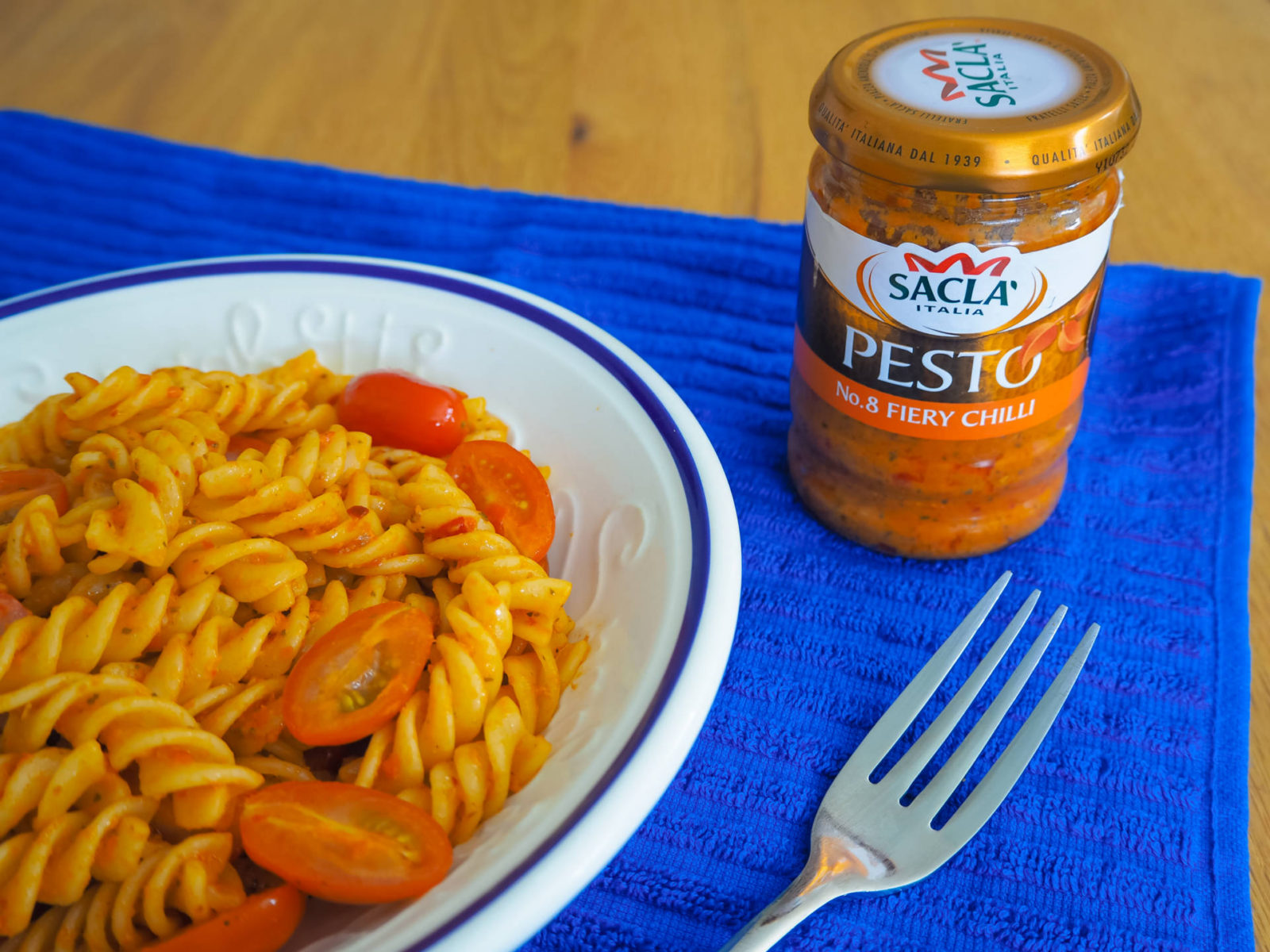 Quick, Easy & Healthy Family Meals With Sacla – Kids Love Pesto