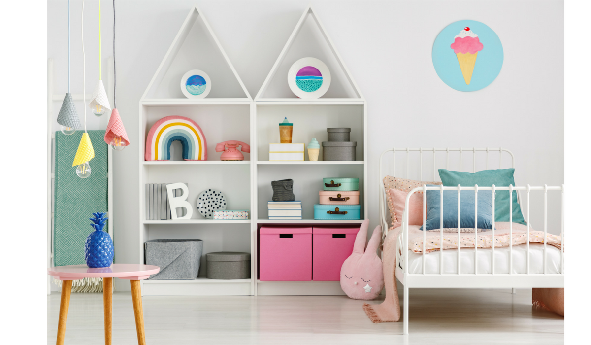 Design a room your child won't instantly outgrow