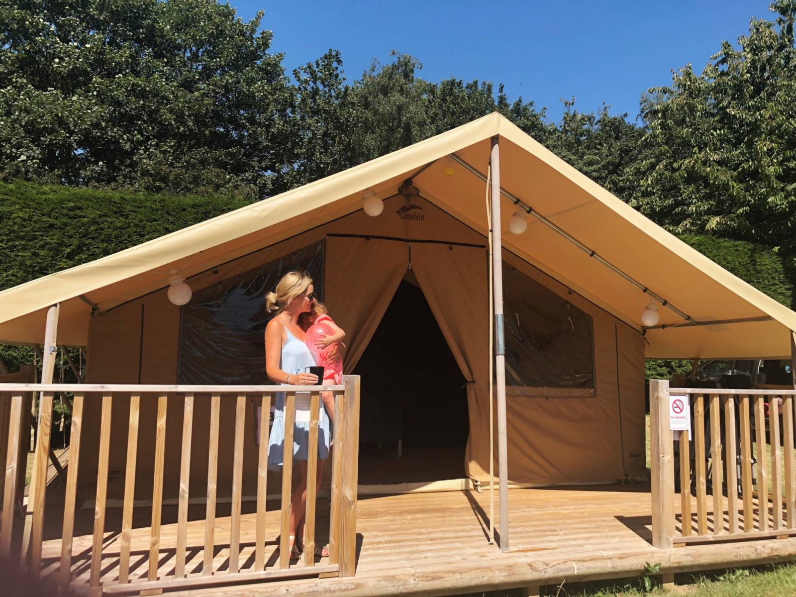Glamping With Ready Camp in Suffolk + Video